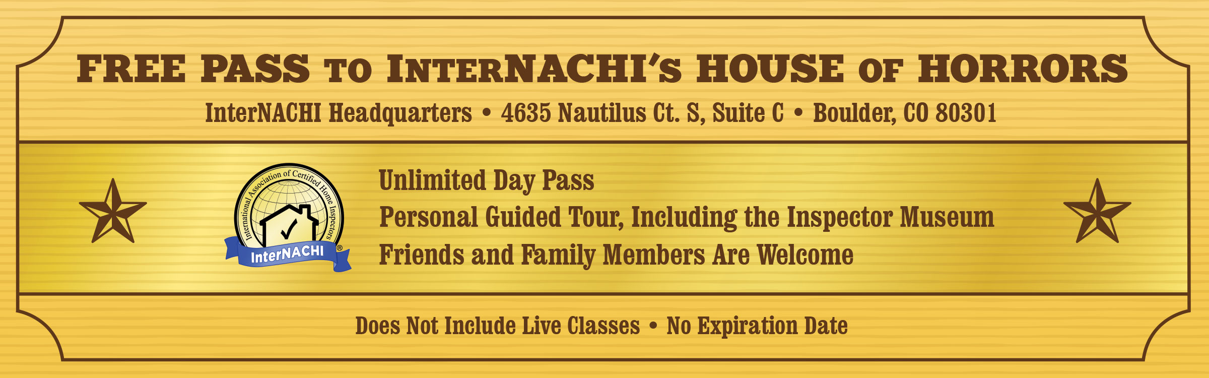 Free Pass to InterNACHI's Inspection Museum