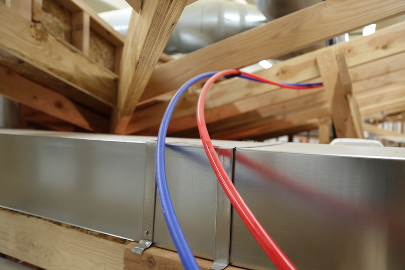 Observation - Water supply hoses are prone to freezing