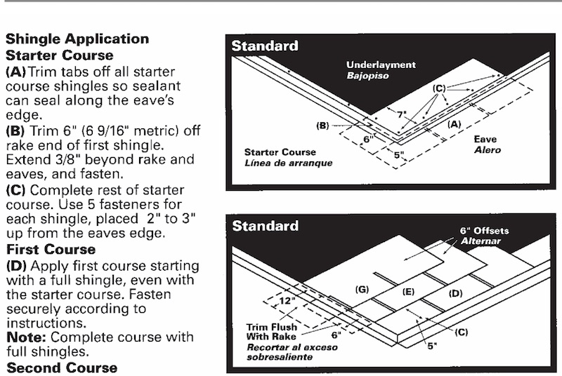 3 tab shingles installation.  Tab It Is A Common Installation Procedure To Create An Offset Pattern For The  Of Asphalt Shingles On 3 Tab Shingles Installation S