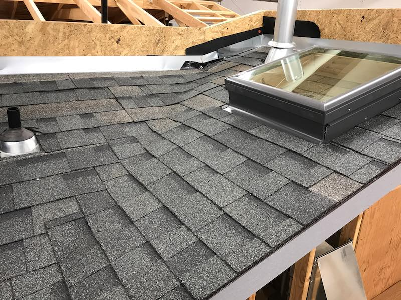 and the layering is designed to shed water an asphalt shingle roof is designed to be water resistant not waterproof a shingle roof essentially relies - Shingling A Roof